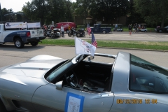 5-FLYING OLD GLORY & BSV COLORS