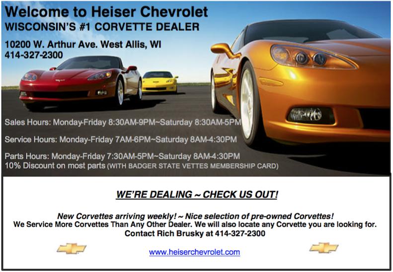 Heiser Chevrolet Ad