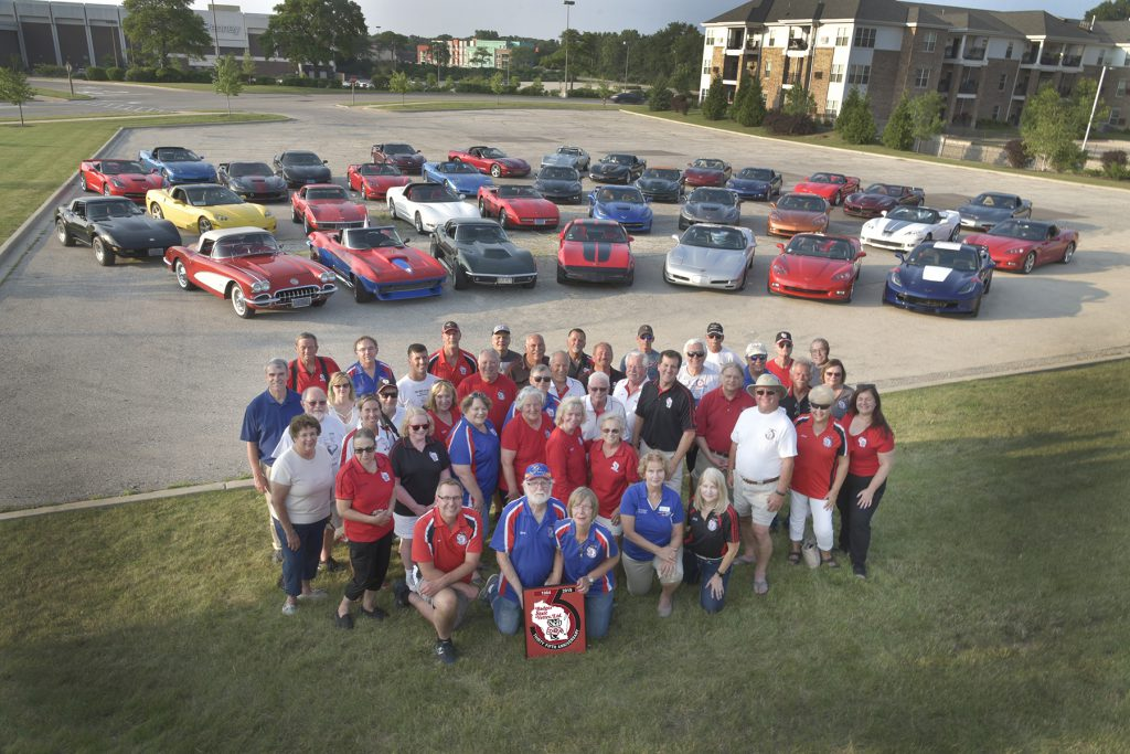 Badger State Vettes 35th Anniversary Group Photo